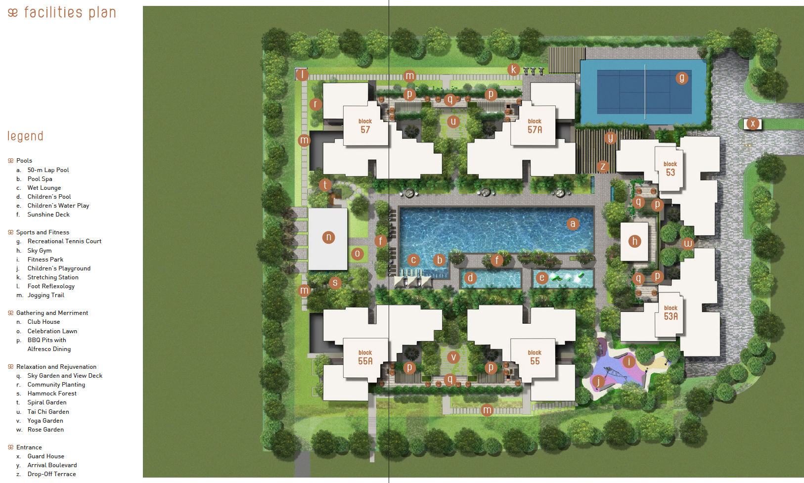 The Amore EC Site Plans U0026 Floor Plans   The Amore Executive Condominium  Singapore